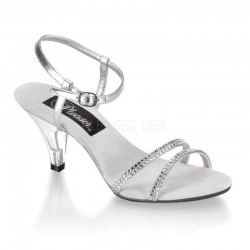 Belle Rhinestone Silver Sandal Mild to Wild Womens Shoes  Shoes for Women from Flats to Extreme High Heels & Platforms