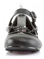 Skull Chain Buckle Mary Jane Flats at Mild to Wild Womens Shoes,  Shoes for Women from Flats to Extreme High Heels & Platforms