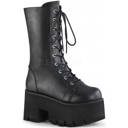 Ashes Womens Mid-Calf Platform Combat Boot Mild to Wild Womens Shoes  Shoes for Women from Flats to Extreme High Heels & Platforms