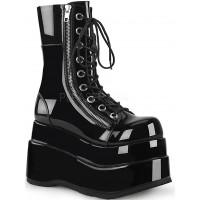 Bear Black Womens Platform Boot