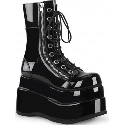 Bear Black Womens Platform Boot Mild to Wild Womens Shoes  Shoes for Women from Flats to Extreme High Heels & Platforms