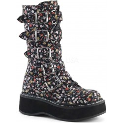 Emily Floral Print Mid-Calf Boot Mild to Wild Womens Shoes  Shoes for Women from Flats to Extreme High Heels & Platforms