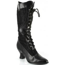 Rebecca Victorian Black Lace Boot Mild to Wild Womens Shoes  Shoes for Women from Flats to Extreme High Heels & Platforms