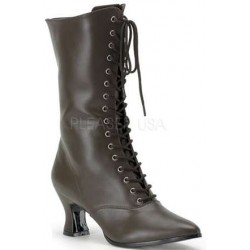 Brown Victorian Ankle Boot Mild to Wild Womens Shoes  Shoes for Women from Flats to Extreme High Heels & Platforms