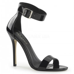 Amuse Black Ankle Strap Sandal Mild to Wild Womens Shoes  Shoes for Women from Flats to Extreme High Heels & Platforms