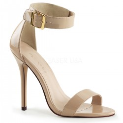 Amuse Cream Ankle Strap Sandal Mild to Wild Womens Shoes  Shoes for Women from Flats to Extreme High Heels & Platforms