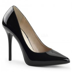 Amuse Black 5 Inch High Heel Pump Mild to Wild Womens Shoes  Shoes for Women from Flats to Extreme High Heels & Platforms