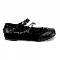 Skull Chain Buckle Mary Jane Flats Mild to Wild Womens Shoes  Shoes for Women from Flats to Extreme High Heels & Platforms