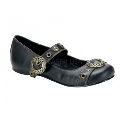 Steampunk Flat Mary Jane Shoe Mild to Wild Womens Shoes  Shoes for Women from Flats to Extreme High Heels & Platforms
