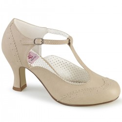 Flapper Cream T-Strap Pump Mild to Wild Womens Shoes  Shoes for Women from Flats to Extreme High Heels & Platforms