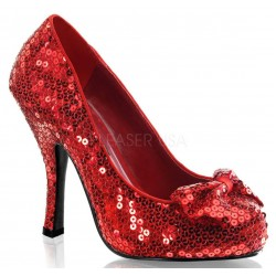 Oz Red Sequin High Heel Pump Mild to Wild Womens Shoes  Shoes for Women from Flats to Extreme High Heels & Platforms