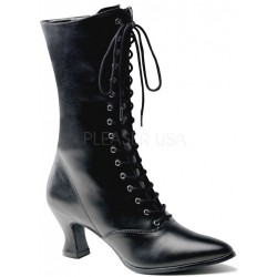 Black Victorian Ankle Boot Mild to Wild Womens Shoes  Shoes for Women from Flats to Extreme High Heels & Platforms
