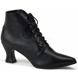 Black Victorian Ankle Bootie Mild to Wild Womens Shoes  Shoes for Women from Flats to Extreme High Heels & Platforms