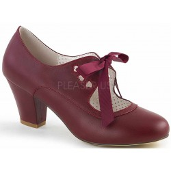Wiggle Vintage Style Mary Jane Shoe in Burgundy Mild to Wild Womens Shoes  Shoes for Women from Flats to Extreme High Heels & Platforms