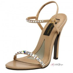 Savannah Crystal Embellished Designer Sandal Mild to Wild Womens Shoes  Shoes for Women from Flats to Extreme High Heels & Platforms