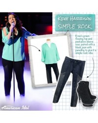 Kree Harrison Performs in Fascinate Boots from Gothicplus.com