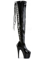 Adore Lace Up Back Thigh High Platform Boot at Mild to Wild Womens Shoes,  Shoes for Women from Flats to Extreme High Heels & Platforms