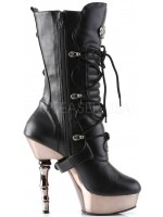 Spine Heeled Muerto Calf High Boot at Mild to Wild Womens Shoes,  Shoes for Women from Flats to Extreme High Heels & Platforms