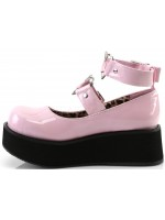 Sprite Heart Ring Baby Pink Platform Mary Jane at Mild to Wild Womens Shoes,  Shoes for Women from Flats to Extreme High Heels & Platforms