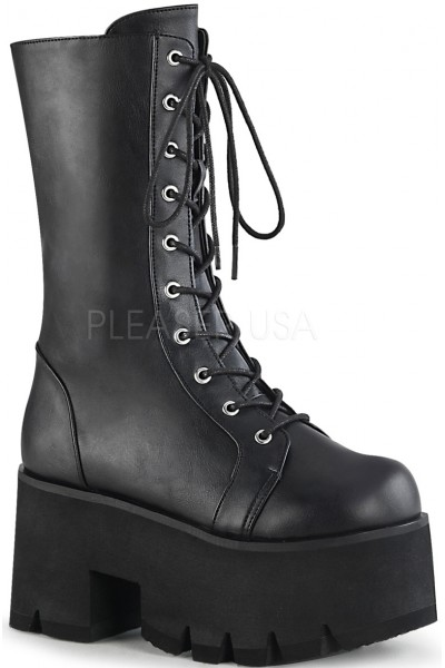 Ashes Womens Mid-Calf Platform Combat Boot at Mild to Wild Womens Shoes,  Shoes for Women from Flats to Extreme High Heels & Platforms