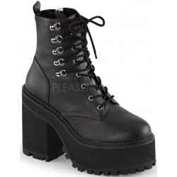 Assault Block Heel Womens Combat Boot Mild to Wild Womens Shoes  Shoes for Women from Flats to Extreme High Heels & Platforms