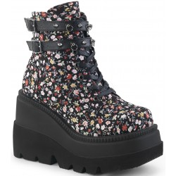 Shaker 52 Floral Print Womens Wedge Ankle Boot Mild to Wild Womens Shoes  Shoes for Women from Flats to Extreme High Heels & Platforms