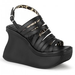 Pace Black Multi-Strap Platform Sandal Mild to Wild Womens Shoes  Shoes for Women from Flats to Extreme High Heels & Platforms