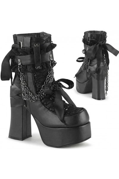 Charade Lace Accent Ankle Boots at Mild to Wild Womens Shoes,  Shoes for Women from Flats to Extreme High Heels & Platforms