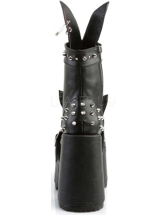 1b0844ece ... Kitty and Bunny Ear Chunky Heel Platform Boots at Mild to Wild Womens  Shoes, Shoes