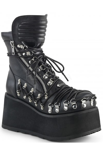 Clash Corseted Womens Motorcycle Boots at Mild to Wild Womens Shoes,  Shoes for Women from Flats to Extreme High Heels & Platforms