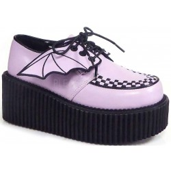 Pink Bat Wing Creepers for Women Mild to Wild Womens Shoes  Shoes for Women from Flats to Extreme High Heels & Platforms