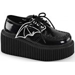 Black Bat Wing Creepers for Women at Mild to Wild Shoes,  Shoes for Women from Flats to Extreme High Heels & Platforms