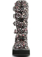 Emily Floral Print Mid-Calf Boot at Mild to Wild Womens Shoes,  Shoes for Women from Flats to Extreme High Heels & Platforms