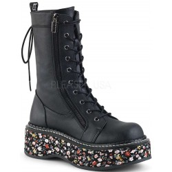 Emily Floral Platform Mid-Calf Boot Mild to Wild Womens Shoes  Shoes for Women from Flats to Extreme High Heels & Platforms