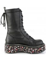 Emily Floral Platform Mid-Calf Boot at Mild to Wild Womens Shoes,  Shoes for Women from Flats to Extreme High Heels & Platforms