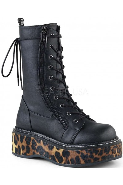Emily Leopard Platform Mid-Calf Boot at Mild to Wild Womens Shoes,  Shoes for Women from Flats to Extreme High Heels & Platforms
