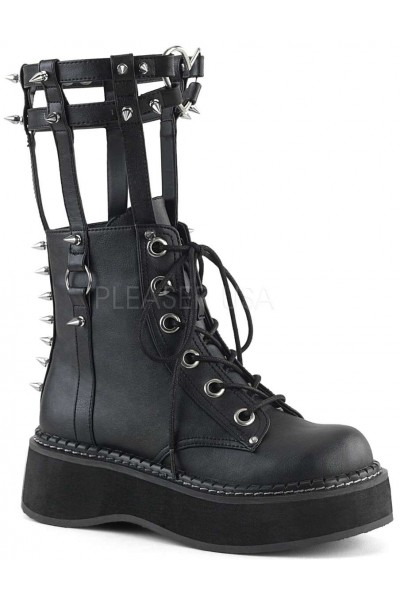Emily Heart Cage Calf High Womens Boot at Mild to Wild Womens Shoes,  Shoes for Women from Flats to Extreme High Heels & Platforms