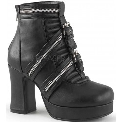 Zippered Gothic Platform Boots for Women Mild to Wild Womens Shoes  Shoes for Women from Flats to Extreme High Heels & Platforms