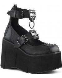 Kera Platform Ankle Strap Mary Jane Gothic Lolita Shoe