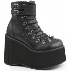 Kera Black Platform Ankle Boots Mild to Wild Womens Shoes  Shoes for Women from Flats to Extreme High Heels & Platforms