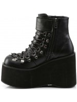 Kera Black Platform Ankle Boots at Mild to Wild Womens Shoes,  Shoes for Women from Flats to Extreme High Heels & Platforms