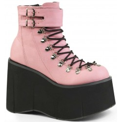 Kera Pink Platform Ankle Boots Mild to Wild Womens Shoes  Shoes for Women from Flats to Extreme High Heels & Platforms