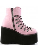 Kera Pink Platform Ankle Boots at Mild to Wild Womens Shoes,  Shoes for Women from Flats to Extreme High Heels & Platforms