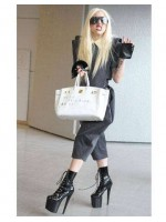 Xtreme 8 Inch High Granny Boot at Mild to Wild Womens Shoes,  Shoes for Women from Flats to Extreme High Heels & Platforms