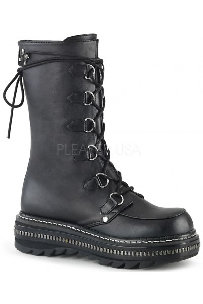 Lilith Metal Trimmed Mid-Calf Womens Black Boot at Mild to Wild Womens Shoes,  Shoes for Women from Flats to Extreme High Heels & Platforms