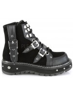 Lilith Black Platform Ankle Boots at Mild to Wild Womens Shoes,  Shoes for Women from Flats to Extreme High Heels & Platforms