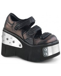 Kera Womens Platform Mary Jane with Metal Plates