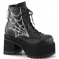Webbed Ranger Womens Gothic Platform Boot