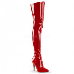 Seduce Red High Heel Thigh High Boots Mild to Wild Womens Shoes  Shoes for Women from Flats to Extreme High Heels & Platforms