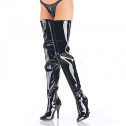 Seduce Black Patent Crotch Boots Mild to Wild Womens Shoes  Shoes for Women from Flats to Extreme High Heels & Platforms